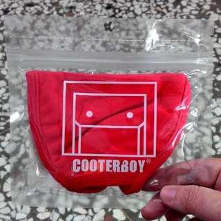 韓國進口 COOTERBOY COLOR MASK 原色編織口罩(紅)免運費
