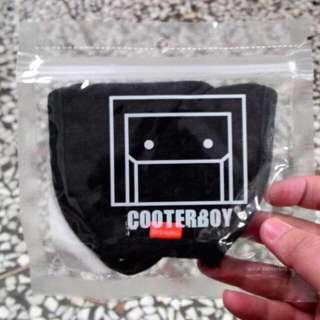 韓國進口 COOTERBOY COLOR MASK 原色編織口罩(碳灰)免運費