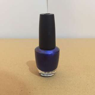 OPI Nail Polish (Blue My Mind)