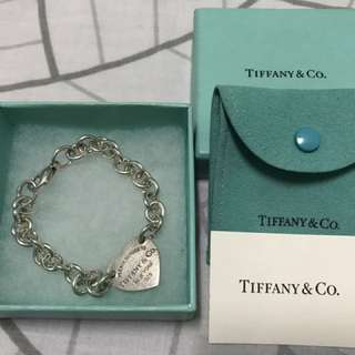 Authentic Preloved Tiffany Bracelet(bigheart)