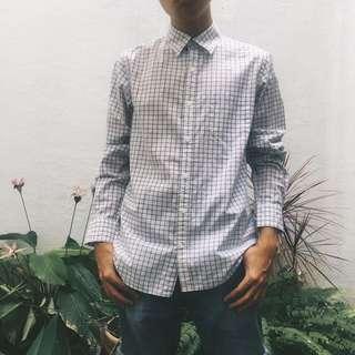 Old Navy's Classic Checkered White Shirt