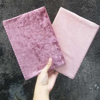 Velvet And Suede Notebooks
