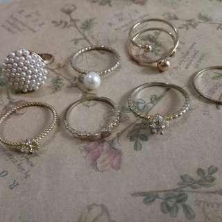 (含運)多款戒指