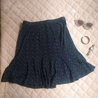 Ann Taylor Loft Flowy Skirt