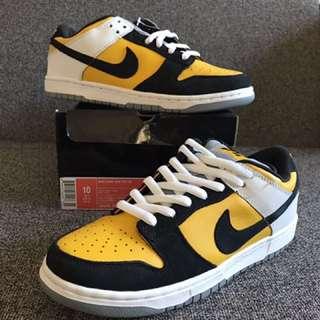 New Nike Dunk Low Pro Sb Maize Yellow US 10