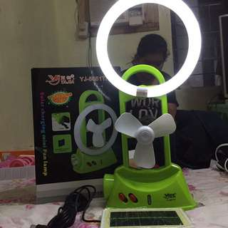 Mini Ring Light With Fan
