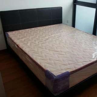 Bed Frame + Mattress Set