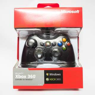 Microsoft Xbox 360 and PC Controller for Windows brand new
