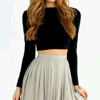 H&M Long Crop Top