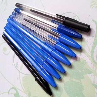 BN Bulk Blue/Black Pens