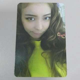 F(x) Luna 4 Walls Official Photocard