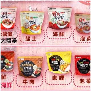 💕韓國 doori doori 泡飯麵/石鍋拌飯 1包入