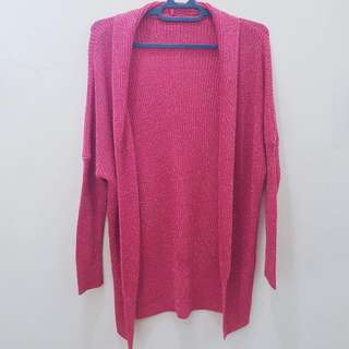 Knit Outer Pink