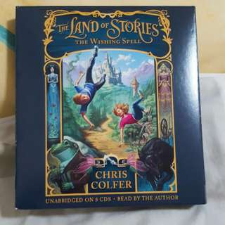 Audio Book - The Land of Stories: The Wishing Spell by Chris Colfer