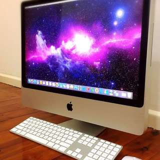 "◈ Apple iMac 20""LED ◈2.66Ghz CPU™◈4.GB•320.GB◈GeForce◈Office◈Full HD◈"