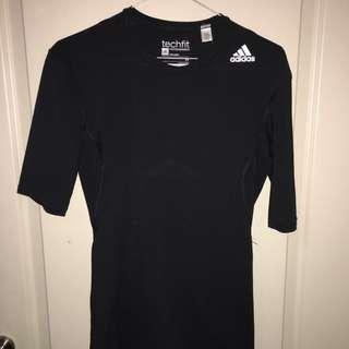 Adidas Techfit Compression Shirt Size M