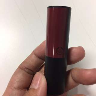 Preloved The Body Shop Matte Lipstick Osaka Plum Matte