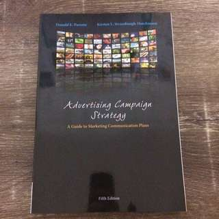 Advertising Campaign Strategy - A Guide to Marketing Communication Plans 5th Edition