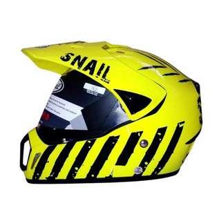 Snail MX-310 Limited Edition Kuning Helm Motocross (L)