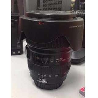 Canon 24-105 L F4 Lense