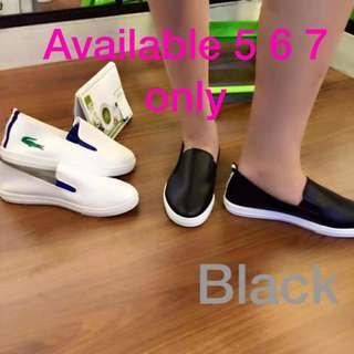 Korea Lacoste Stlyle Rubber Shoes