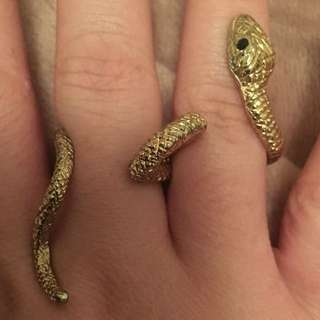 Snake Novelty Ring