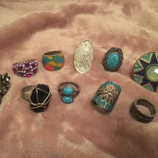 Assorted Novelty Rings from Lovisa