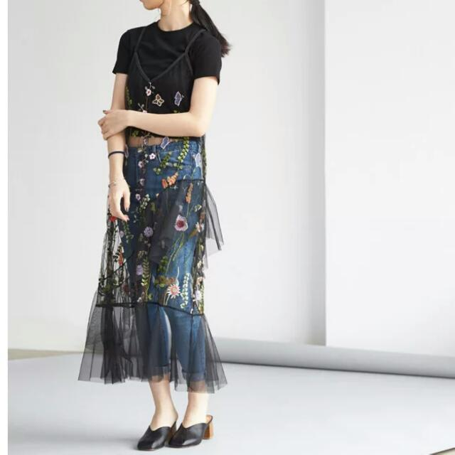 2017 Embroidered Sheer Dress