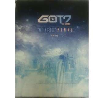 GOT7 FLY DVD BLU-RAY