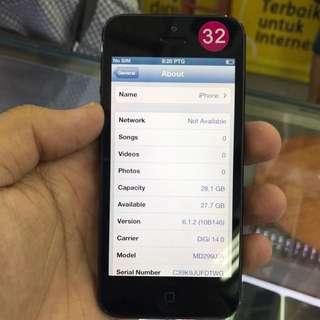iphone 5 32gb ios 6.1.2