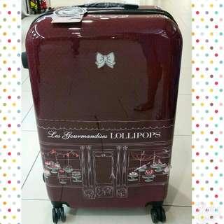 """LOLLIPOPS Expandable Luggage 28"""" TSA Lock"""