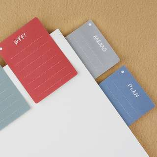 Planning list sticky notes / post-it memo pads