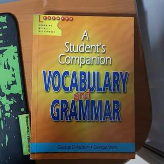 Vocabulary and Grammar Self Help