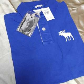 A&F Abercrombie & Fitch Muscle Polo