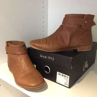 WITTNER - Size 37 Ankle Boots - Baxi Tan Leather
