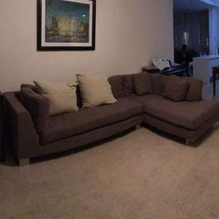 L-shaped Sofa (moving out)