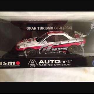 Autoart R34 Gran Turismo