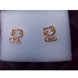 ROSEGOLD Hello Kitty Earing