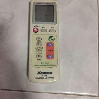 Aircon Remote