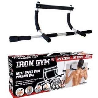 iron man pull ups exercise