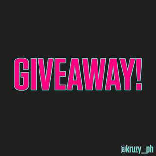 @KRUZY_PH'S FIRST GIVEAWAY!