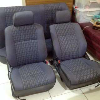 Corolla Big Body Front And Rear Seat