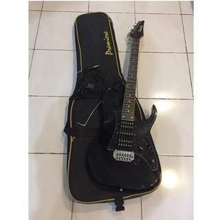 Ibanez Black Electric Guitar