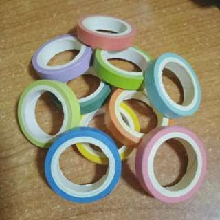 Colour Washi Tapes SALE CLEARANCE