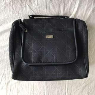 Large Dior Makeup Bag With Mirror