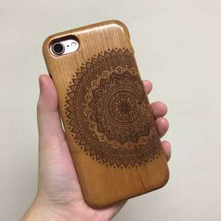 Bamboo Wood Case (Ip7)