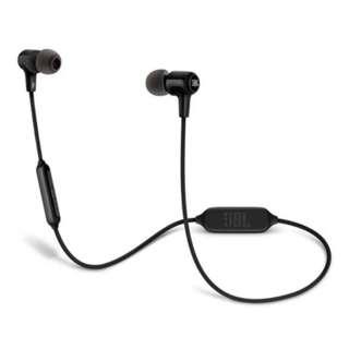 JBL E25BT Bluetooth in-ear headphone Black