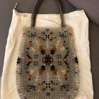 Anteprima Beaded Tote Bag Brandnew Never Use