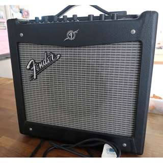 FENDER MUSTANG 1 Vers 2 Guitar Amp $80 SOLD!