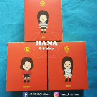 TWICE OFFICIAL FIGURINE  (READY STOCK)